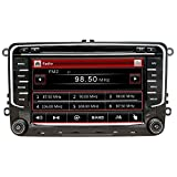 NVGOTEV 7-Zoll-Stereo-Autoradio für VW/Golf/Passat/Skoda/Jetta/Tiguan/Sitz mit Wince-System