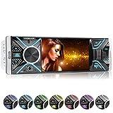 XOMAX XM-V417 Autoradio mit 4.1' / 10 cm Bildschirm I Bluetooth Freisprecheinrichtung I USB, SD, AUX...