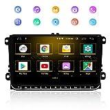 Autoradio GPS 9 Zoll Stereo Home Auto Stereo GPS Navigator für VW, Multimedia Multimedia Player...