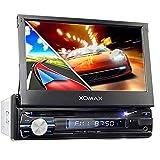 XOMAX XM-DTSBN933 Autoradio mit GPS Navigation I Bluetooth I 18 cm / 7' Touchscreen Bildschirm I...
