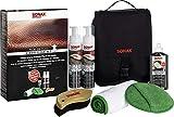 SONAX PremiumClass LederPflegeSet - Entfernt gründlich und schonend selbst hartnäckige...