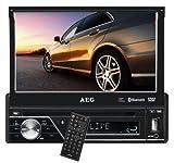 AEG AR 4026 Autoradio (DVD/CD, 17,5 cm (7 Zoll) LCD-Display, Touchscreen, SD Kartenslot, USB)...