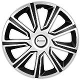 Michelin Louise, Silber/Schwarz, 16' Zoll. (4 x Universal Radzierblenden/Radkappen)