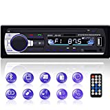 Autoradio Bluetooth, YYKJ 1 DIN Autoradio Audio, Single Din Car FM Radio Head Unit Unterstützung EQ...