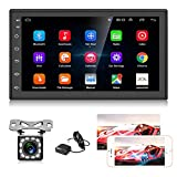 Hodozzy Android Autoradio Double Din mit GPS 7.0 Zoll Touchscreen Bluetooth Autoradio Unterstützung...