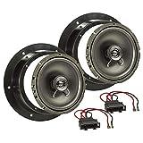 tomzz Audio 4057-004 Lautsprecher Einbau-Set Kompatibel mit VW Golf 5 V Passat 3G Touran Caddy Tür...