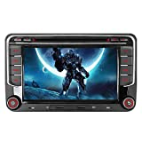 16GB SD Karte 7' Autoradio DVD GPS CAN-Bus Für VW Golf 5 6 V VI, Passat B6, Tiguan, Polo, Touran,...
