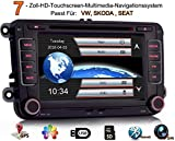 iFreGo 7 Zoll 2 Din Autoradio Für VW Golf 5/6 Sharan Skoda SEAT, GPS Navigation,DVD CD Player,...
