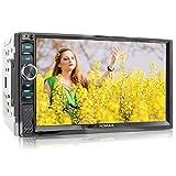 XOMAX XM-2V719 Autoradio mit Mirrorlink für Android, Bluetooth Freisprecheinrichtung, Anschluss...