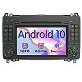 AWESAFE Android 10 Autoradio mit Navi für Mercedes-Benz, unterstützt DAB+ WLAN CD DVD Bluetooth...