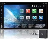 Tristan Auron BT2D7018A-DVD Android 9.0 Autoradio mit Navi + DAB + Box I 7'' Touchscreen Bildschirm...
