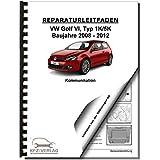 VW Golf 6 Typ 1K/5K (08-12) Radio Navigation Kommunikation Reparaturanleitung