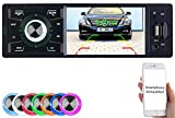 Creasono Autoradio 1 DIN: MP3-Autoradio mit TFT-Farbdisplay, Bluetooth, Freisprecher, 4X 45 Watt...