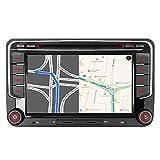 Mit 16GB SD Karte 7' AUTORADIO DVD GPS Navigation BT DAB VMCD Für VW Golf 5/6 V VI Passat B6 CC...