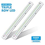 AMBOTHER LED Innenbeleuchtung, 2x 108 LED Innenraumbeleuchtung 12V 4W LED Leiste mit ON/OFF Schalter...