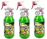 Tuga 3 x 1 Liter Alu-Teufel Felgenreiniger Spezial Säurefreies Aktivgel für Felgen und Radkappen....