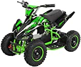 Actionbikes Motors Kinder Elektro Miniquad ATV Racer 1000 Watt 36 Volt - Scheibenbremsen - Safety...