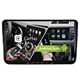 9 Zoll Android 10 Dual Tuner Carplay Android Auto 32GB GPS Autoradio Navi für V W Passat Golf 5 6...