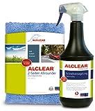 ALCLEAR 71100SV Lack Schnellversiegelung 1 Liter inkl. Mikrofaser Auto Poliertuch für Autopflege,...
