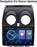 GLFDYC Android 8.1 GPS Navigation Radio TV, 9 Zoll Full Touch Screen Autoradio, für Nissan Qashqai...
