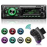 GRUNDIG Autoradio mit Bluetooth Freisprecheinrichtung, 7 Farben Licht Einstellbar 1 Din Autoradio...