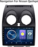 GLFDYC Android 8.1 GPS Navigation Radio TV, 9 Zoll Full Touch Screen Autoradio, für Nissan Qashqai...