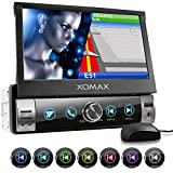XOMAX XM-VN764 Autoradio mit Mirrorlink, GPS Navigation, Navi Software, Bluetooth...