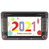 16GB TF Card Autoradio Navi CD DVD GPS CAN-BUS Radio RDS Bluetooth A2DP GPS Navigation für VW Golf...