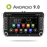 Aumume 7 inch Android 9.0 autoradio für VW Golf Passat Polo Tiguan Jetta Skoda Fabia Yeti Seat met...