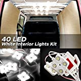 Audew LED Auto Innenbeleuchtung Innenraumbeleutung Lampe 10x4 Interior Licht Auto Leseleuchte LED...