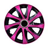 Centurion Radzierblende Drift EXTRA pink/schwarz 14 Zoll 4er Set