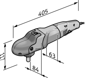 Flex PE 14-2 150 Abmessungen
