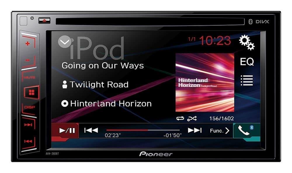 Autoradio mit Navi Beispielbild | Quelle: Pioneer Amazon