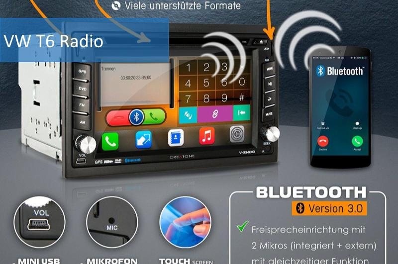 vw t6 radio test und info die besten vw t6 radio. Black Bedroom Furniture Sets. Home Design Ideas