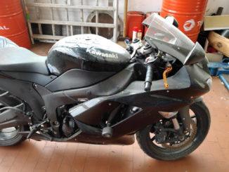 Motorrad waschen und polieren Beitrag